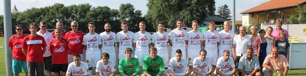 Mannschaftsfoto mit Dressensponsor 2014