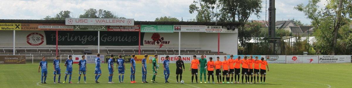 4.Runde Wallern-Leithaprodersdorf vom 3.9.2017 3:0 (1:0) Reserve 0:3