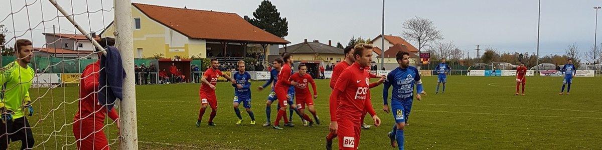 Cupspiel Wallern-Siegendorf 0:2 (0:0)