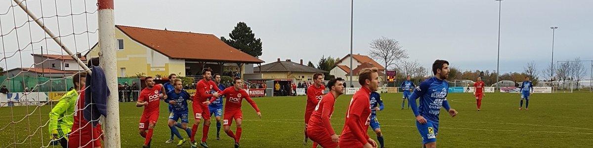 Cup Spiel Wallern-Siegendorf 0:2 (0:0)
