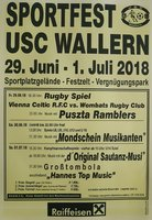 Sportfest 29.Juni bis 1. Juli 2018