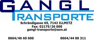 Logo Gangl Transporte