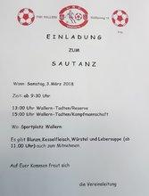 Foto Sautanzplakat 2018